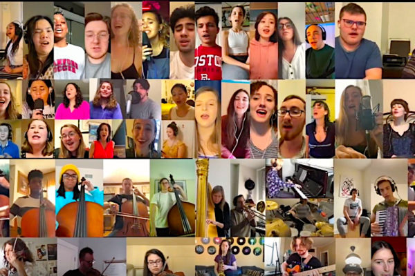 shelbie rassler what the world needs now youtube video cover photos features 75 artist in a virtual orchestra